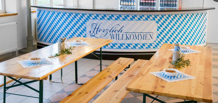 EVENTPARK Bayern - Die Location für alle Anlässe - Konzept